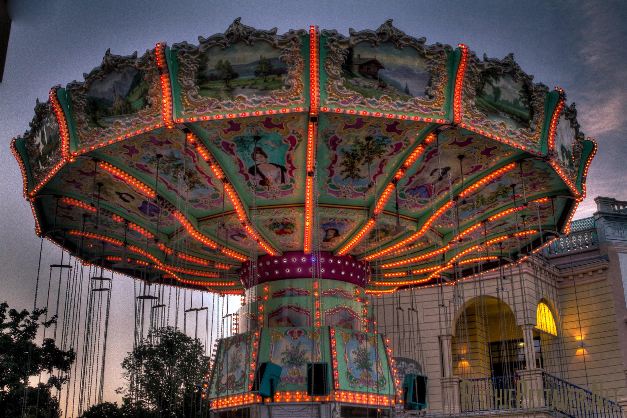 Merry-go-Round at Prater Vienna