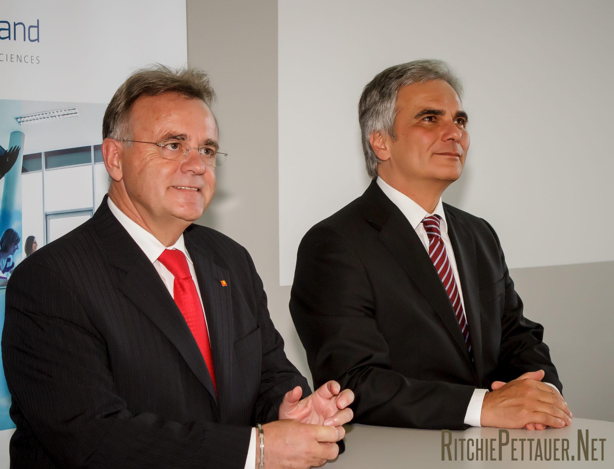 Hans Niessl, Werner Faymann