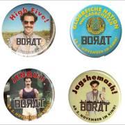 Jagshemash! Borat-Buttons zu gewinnen...