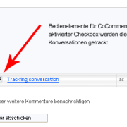 WP-Plugin: Kommentare tracken