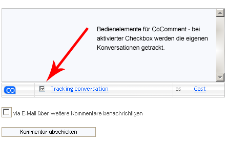 coComment Integration