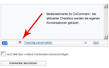 WP-Plugin: Kommentare tracken