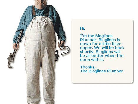 404er mit Style: Der Bloglines Installateur