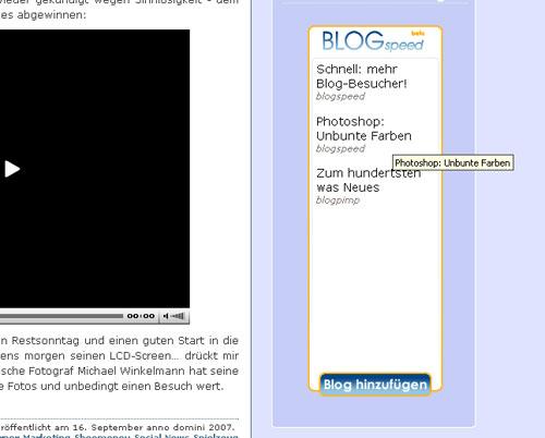 blogspeed