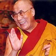 Tenzin Gyatso besucht Alfred Gusenbauer