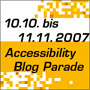 Accessibility Blogparade
