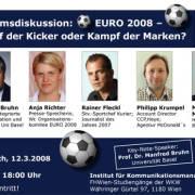 Podiumsdiskussion: Der Sport und sein Sponsoring