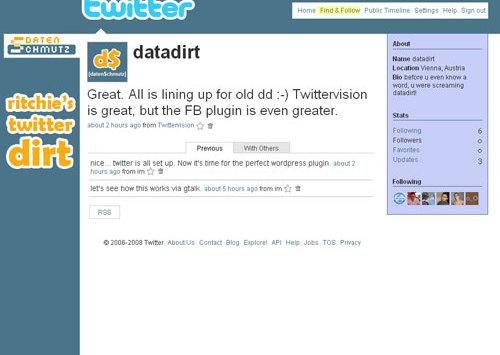 Twitter: nächster Versuch