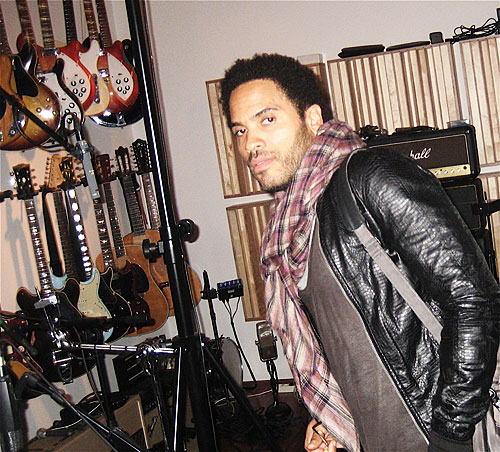 Lenny Kravitz im Creatix Studio