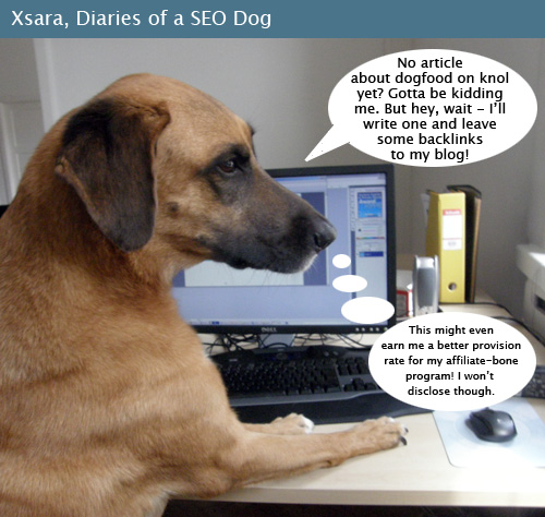 Xsara, SEO dog #1