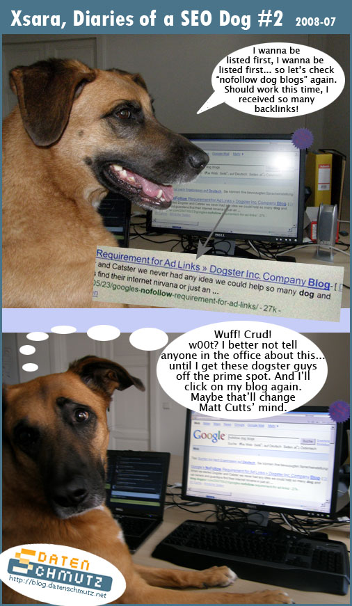 Xsara - Tagebuch eines SEO Hundes #2