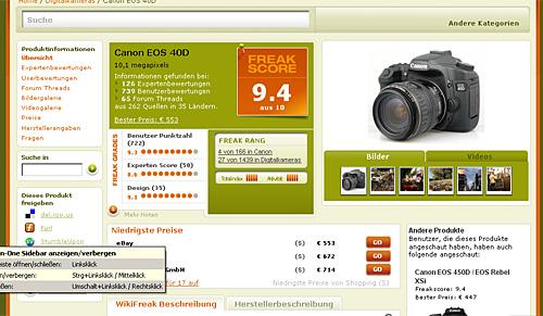 testfreaks profilpage
