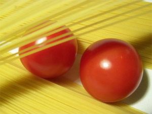 tomaten und nudeln