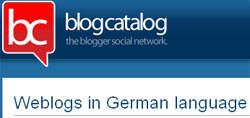 deutschsprachige Blogs bei blogcatalog.com