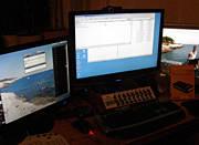 Arbeitsplatz-Upgrade auf 3 Monitore