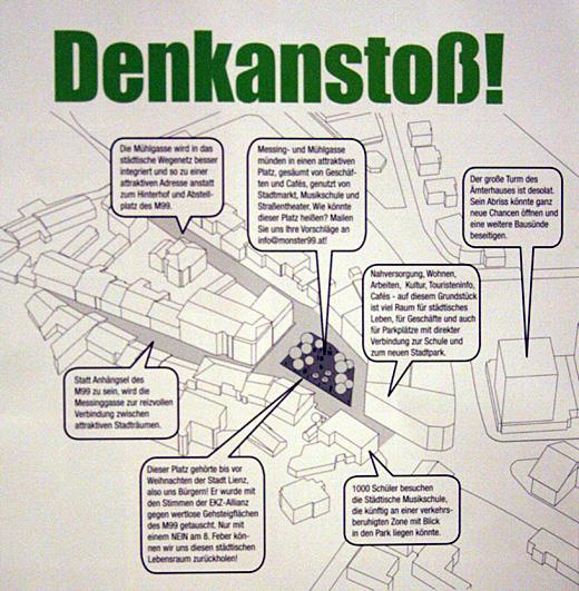 Architektonischer Denkanstoss