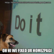 Twitter+Marketing: Oh hi we fixed ur homezpage