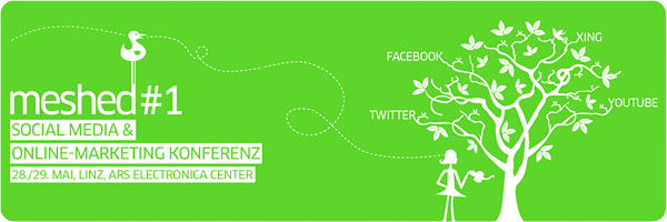 meshed #1 Konferenz: Twitter, Facebook, Youtube und Co.