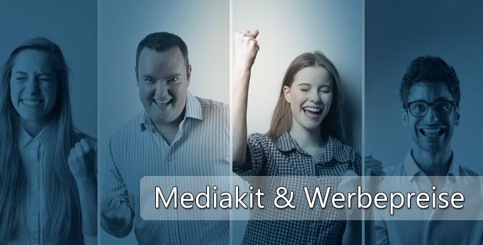 Mediakit | Informationen für Werbepartner