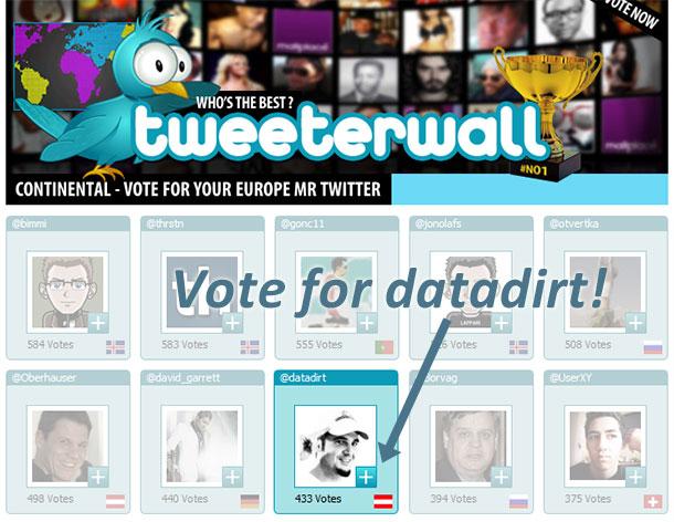 tweetwall-vote