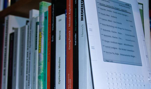 Wie man PDF-Dateien gratis auf den Kindle 2 lädt