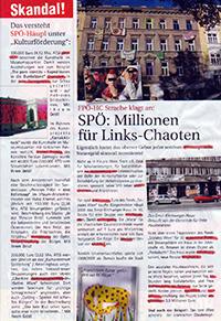 Geheimbotschaft in FPÖ-Wahlwerbung entdeckt