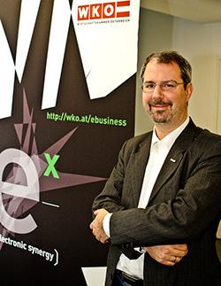 Gerhard Laga, Leiter des WKO eCenter