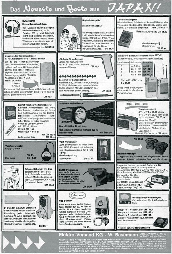 Spitzentechnologie aus Japan