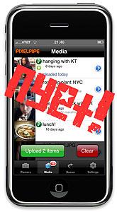 Pixelpipe iPhone App