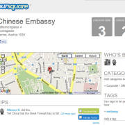 Die chinesische Botschaft in Wien