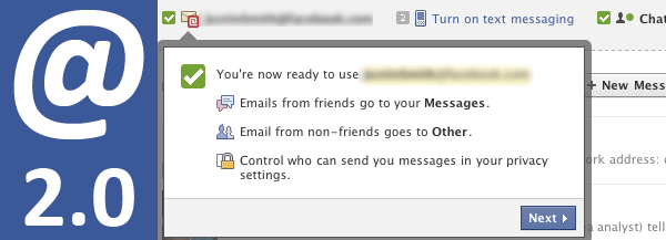 Facebook Messaging neu