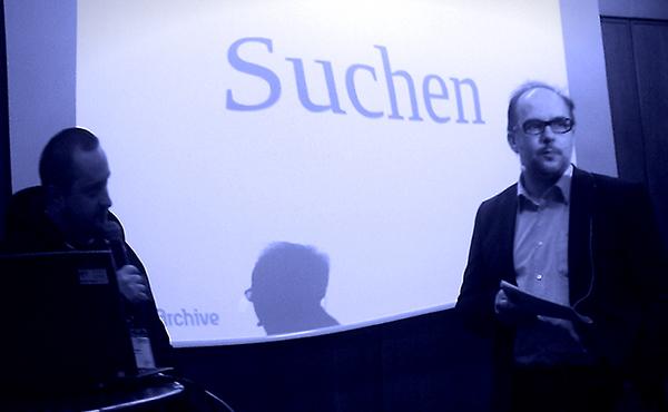 Max Kossatz und Gerald Bäck