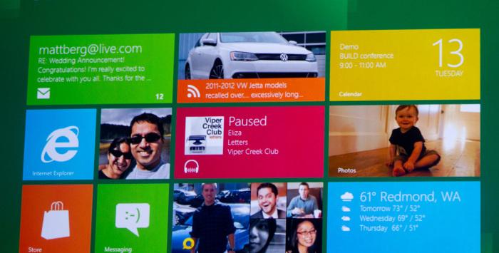 Windows 8 Startbildschirm