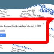 Kein Google Reader mehr