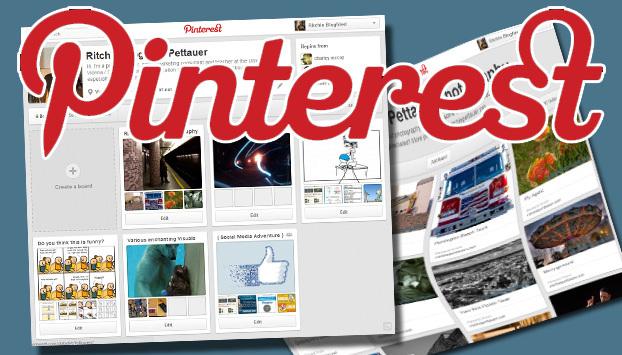 Neues Design für Pinterest