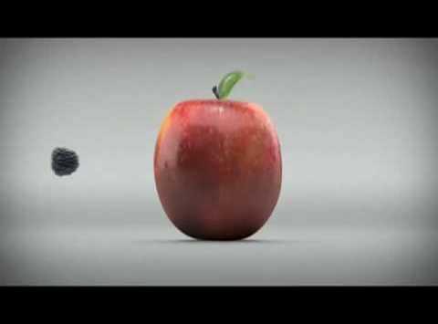 BlackBerry vs. Apple: Arena frei für den Obstkampf