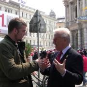 Die SPÖ im Online-Wahlkampf: Interview mit Hannes Swoboda