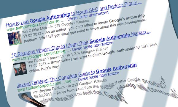 Google Authorship und Animated Gifs