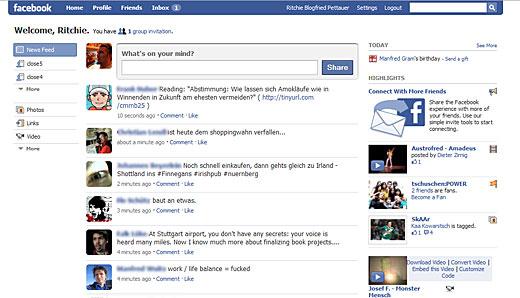 Meinungen zum Facebook Homepage-Lifting?