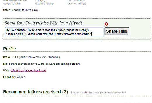 MrTweet: Twitter Mash-Up mit Marketing-Mehrwert