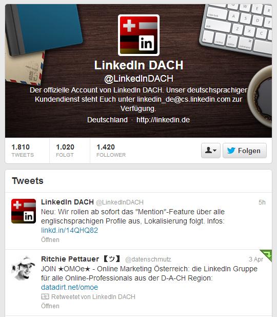 OMOe - Online Marketing Österreich auf LinkedIn