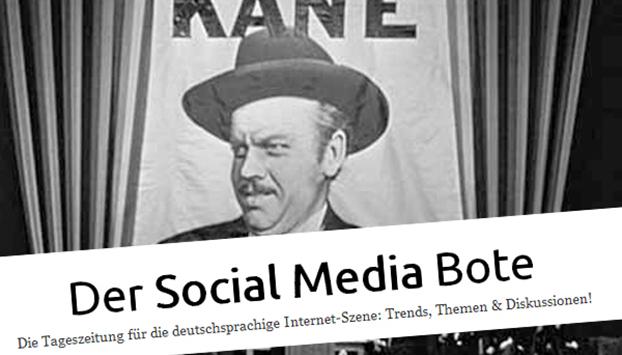 Der tägliche Social Media Bote