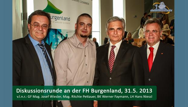 Werner Faymann, Ritchie Pettauer, Hans Niessl
