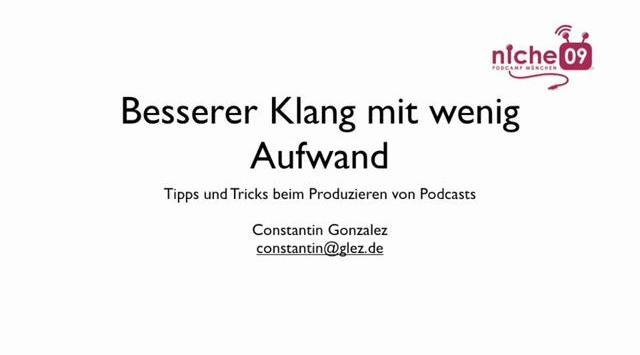Bessere Audio-Qualität bei Podcasts