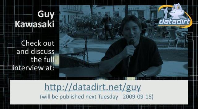 Guy Kawasaki Interview Teaser