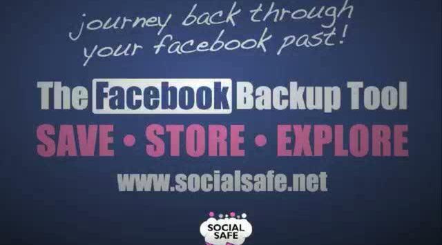Sich Freunde sichern: SocialSafe Backup für Facebook
