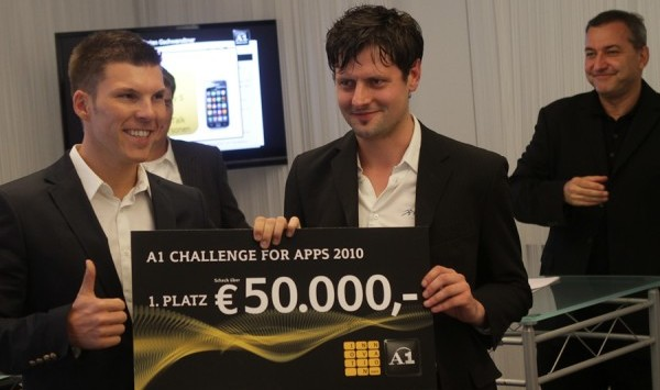 A1 Challenge for Apps - die Gewinner
