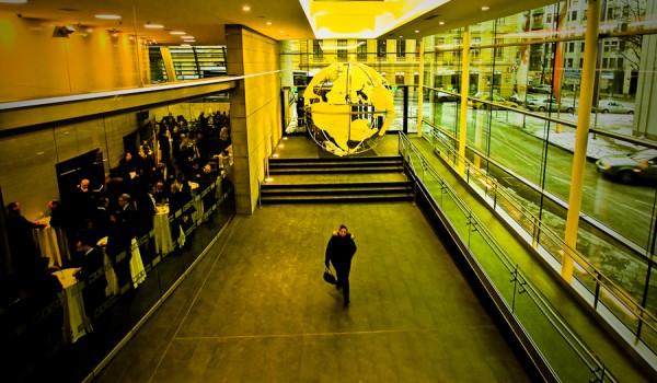 Foto: Das Foyer des WKO-Gebäudes