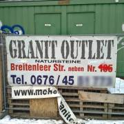 Das Granit-Outlet
