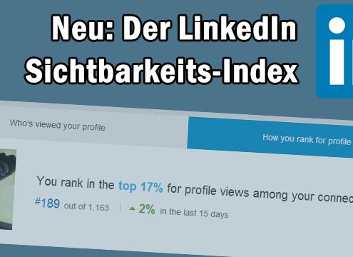 LinkedIn Sichtbarkeitsindex